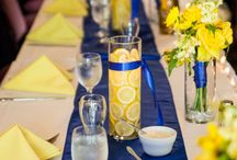 blue-yellow decoration