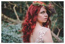 Woodland Rustic Bridal Inspiration