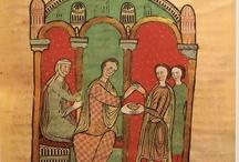 Medieval stripes and checks