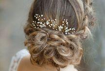 Bridal Hairpins