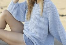 Knitted jumper and sweaters