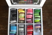 Tape storage / Great solutions to store washi tape and other decorative tapes.