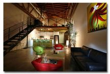 Lofty Ambitions / I love lofts and the open space and here I open to open the inspiration for what will one day my own