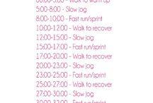 Hardlopen oefeningen