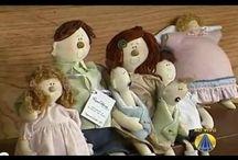 muñecas  de  trapo / by maria jose marquez