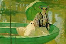Art . . Ladies with Parasols