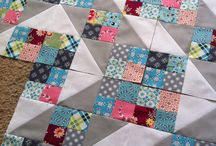 Quilts based on Little Squares... / I'm fascinated with all the possibilities of these simple blocks...