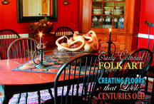 All Things Primitive / Primitive, Shaker & Country Home Decoration Ideas