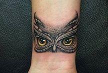tatuaż oczka