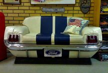 Car Couch / Transforming Car Parts into a Couch