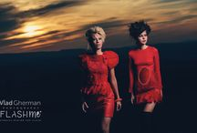 Sunset Red Photo shoot - flashme with Vlad Gherman