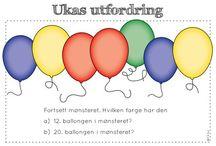 Tekstoppgaver matte/norsk