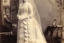 Gowns ~ 1800 & 1900's / by Donna Weisse