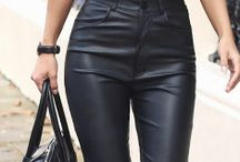 P/Leather outfit