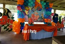 Finding Nemo Decoration Birthday Party