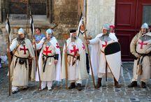 TEMPLARS / Eventos e reconstituições históricos da Época Medieval, de hoje no Mundo.
