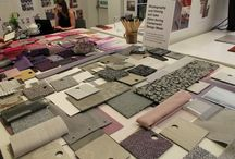 Clerkenwell Design Week 2018 / Interface Human Connection fabrics and materials
