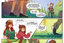 Gravity Falls -comic / My favorite Gravity Falls fan comic so far!