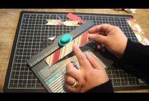 Envelope punch board crafts