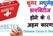 Diabetes Causes and reasons in hindi