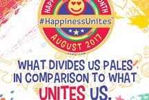 2017 Happiness Happens Month: #HappinessUnites / 17th #HappinessHappens Month celebrated by the the Secret Society of Happy People