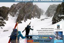 Backcountry Ski & Snowboard Routes: Colorado - the guidebook