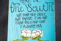 Lawdy, How I Love the South / All things as Southern as I am.