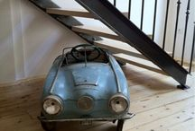 Pedal cars / Old pedal cars