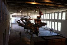 Xu Bing exhibit at Mass Moca