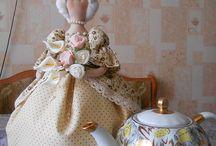 баба на чайник