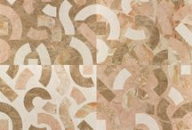 Wall and floor coverings with textures inspired by nature