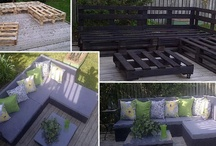 Pallet Furniture Ideas / by Tara Bouldin