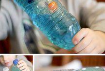 Actividades con botellas