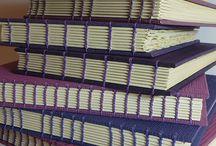 Coptic stitch / Book binding