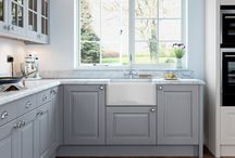 Bespoke Painted / Collection of Bespoke Painted Kitchens by First Impressions