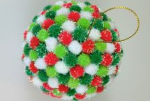Homemade Christmas ornaments / by Betty Struble