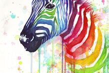 Zebra Mania / I love Zebraaaaaaaaaaaaaaaaas!!!!!!! So I made a special little board for them.