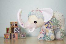 Elegant Elephant Plushies