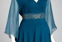 Blouse / Tunic in Teal / Mint
