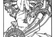 Coloring Pages for Adults / by Stella Hart