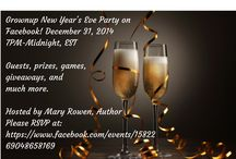 Grownup New Year's Eve Party on Facebook! / A fun NYE party with lots of music, guest authors, prizes & giveaways!