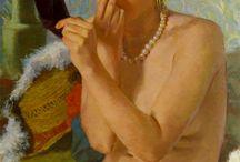 Donne allo Specchio / Donna allo Specchio nell'Arte ✿  https://catherinelarosepoesiaearte.blogspot.com/2016/06/donne-allo-specchio-nell-arte.html