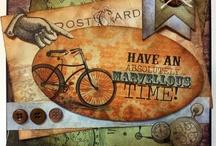 Steampunk Cards