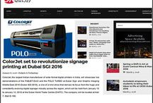 COLORJET LATEST NEWS / COLORJET MADE NEWS ACROSS THE WORLD