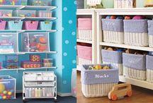 Organização quarto infantil / Confira dicas de como organizar e decorar o quarto das crianças