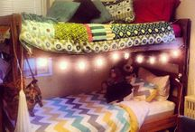 Dreaming of Dorms / Here's to all things college dorm.