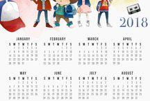 Calendario 2018 S.T.