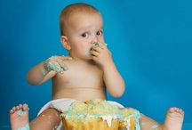JOSHS FIRST BIRTHDAY CAKE SMASH