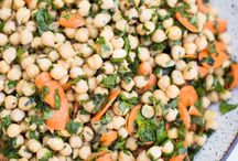 Anything with chickpeas