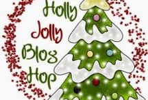 """""""Holly Jolly"""" Christmas Blog Hop! / Check out these great Christmas stories, books, traditions and memories by following the blog hop!"""